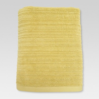 Textured Bath Towel Lasting Yellow - Threshold™