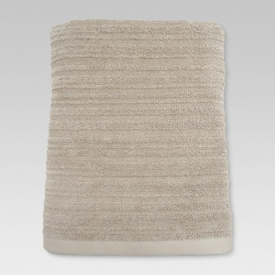 Textured Bath Towel Natural Taupe - Threshold™