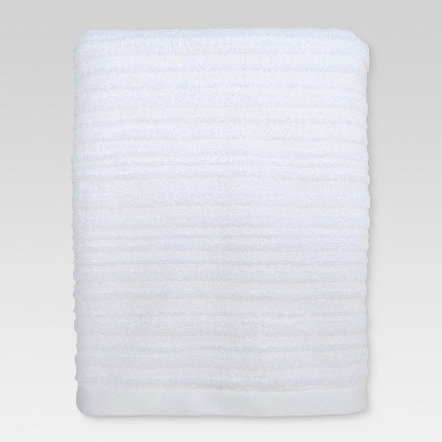 Textured Bath Towel White - Threshold™