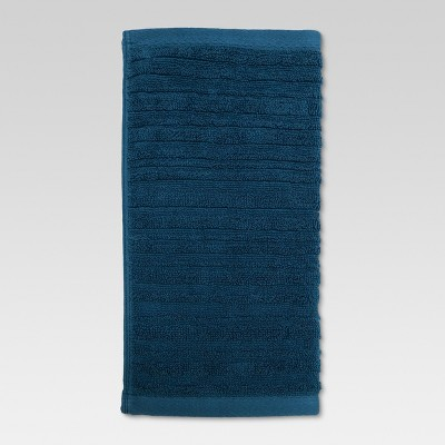 Textured Washcloth Calhoun Blue - Threshold™