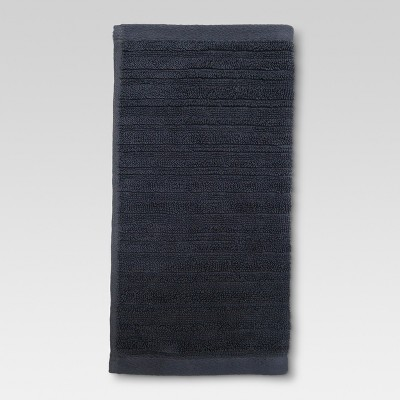 Textured Washcloth Anchor Gray - Threshold™