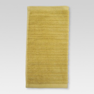 Textured Washcloth Lasting Yellow - Threshold™