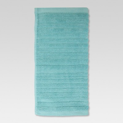 Textured Washcloth Aqua Pool - Threshold™