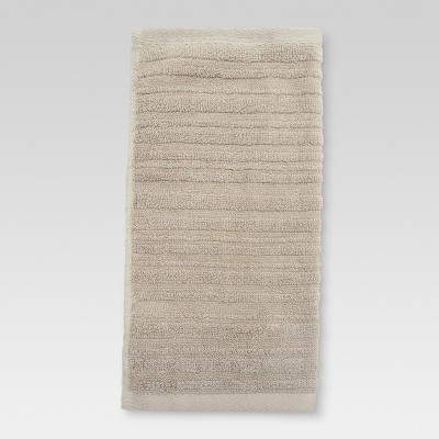 Textured Washcloth Natural Taupe - Threshold™