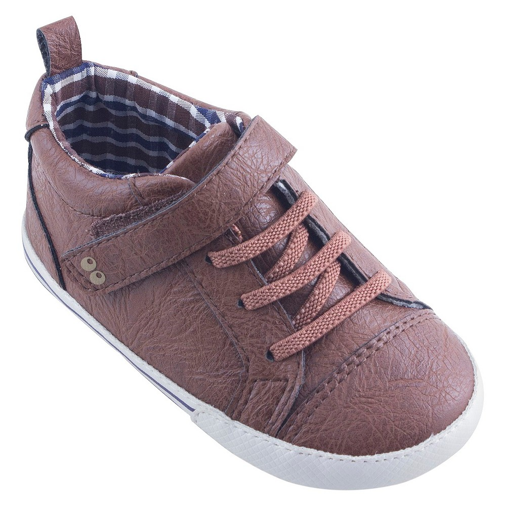 Baby Boys Surprize by Stride Rite Lee Sneaker Mini Shoes - Brown 18-24M