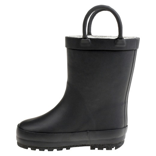 Toddler Girls' Capelli Kids Fully Fur Lined Rain Boots : Target
