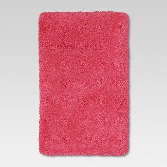 pink brown bath rugs : Target