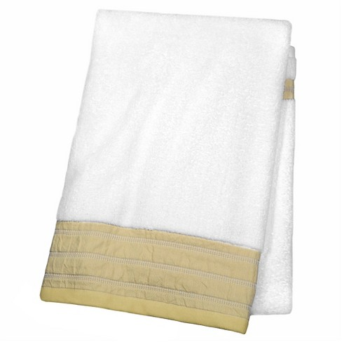 Decorative Luxury Bath Towel Tan Border Fieldcrest Target