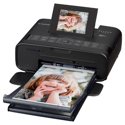 Canon SELPHY CP1200 Wireless Dye Sublimation Photo Printer - Black (0599C001)