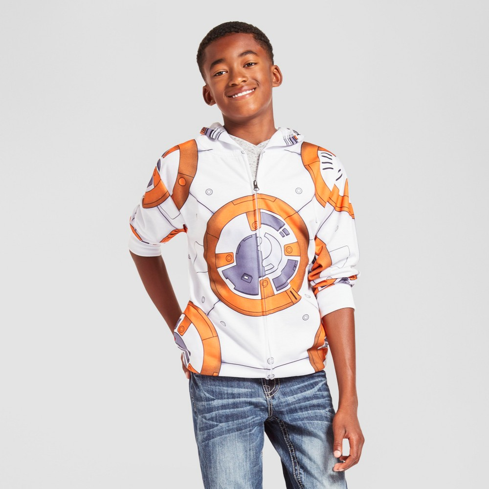 Boys Star Wars BB8 Sweatshirt - White M