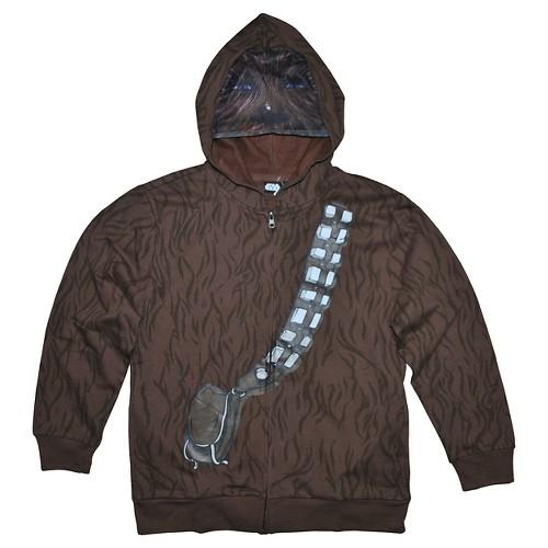 Boys' Star Wars Wookie Sweatshirt - Brown L, Boy's
