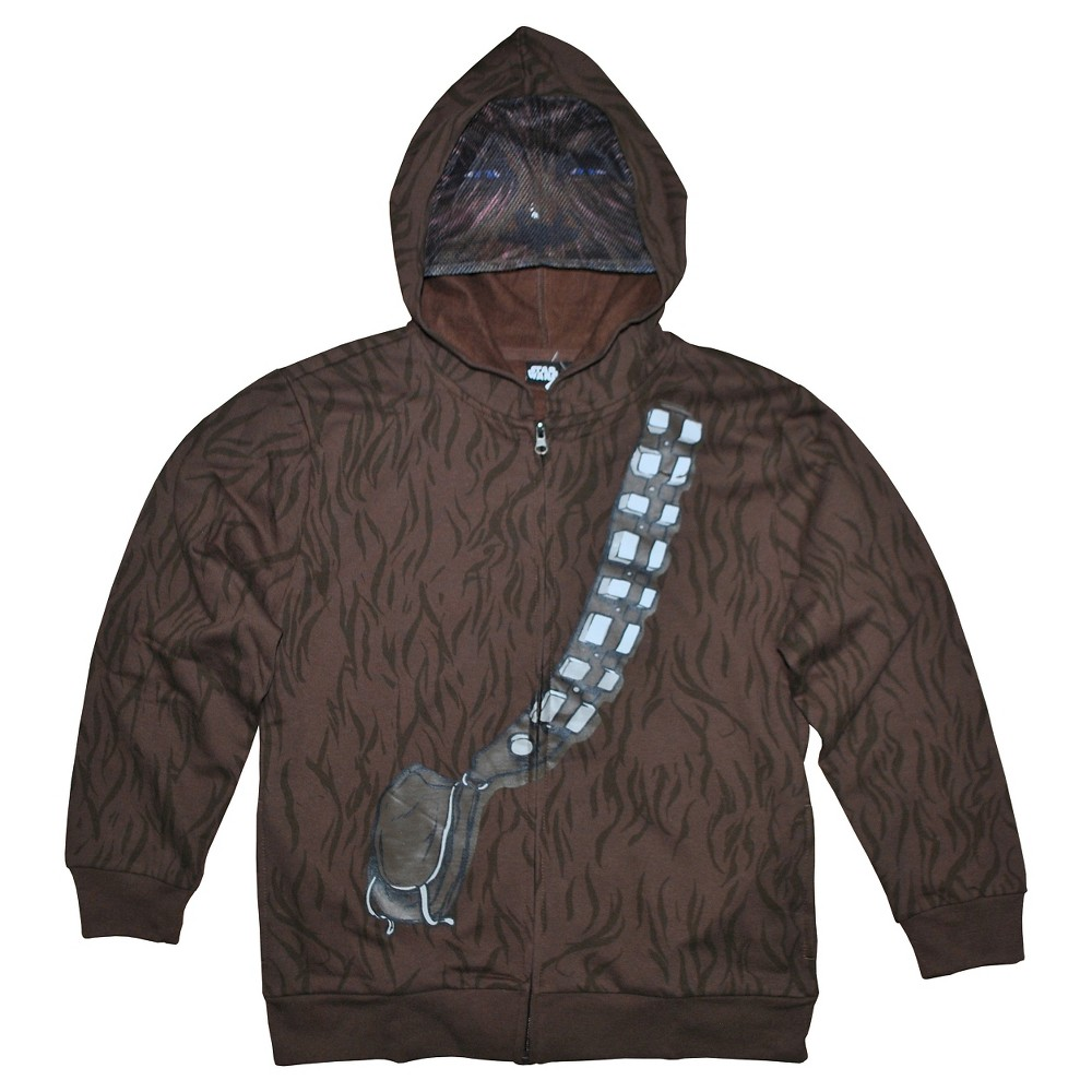 Boys Star Wars Wookie Sweatshirt - Brown XL