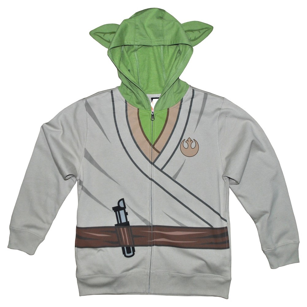Boys Star Wars Yoda Sweatshirt - Sand XS, White