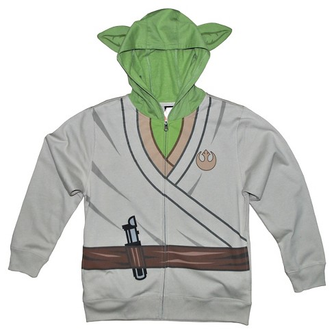 Boys' Star Wars Yoda Sweatshirt - Sand - image 1 of 1
