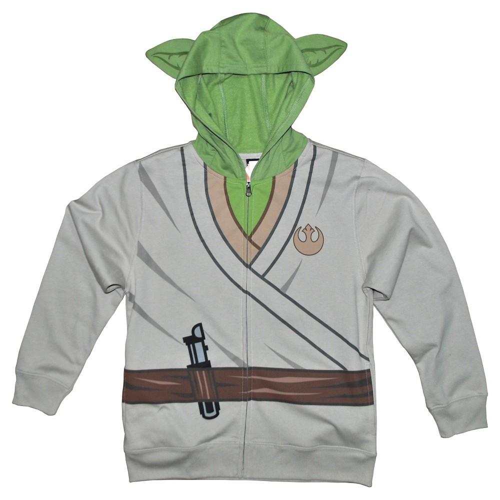 Boys Star Wars Yoda Sweatshirt - Sand S, White