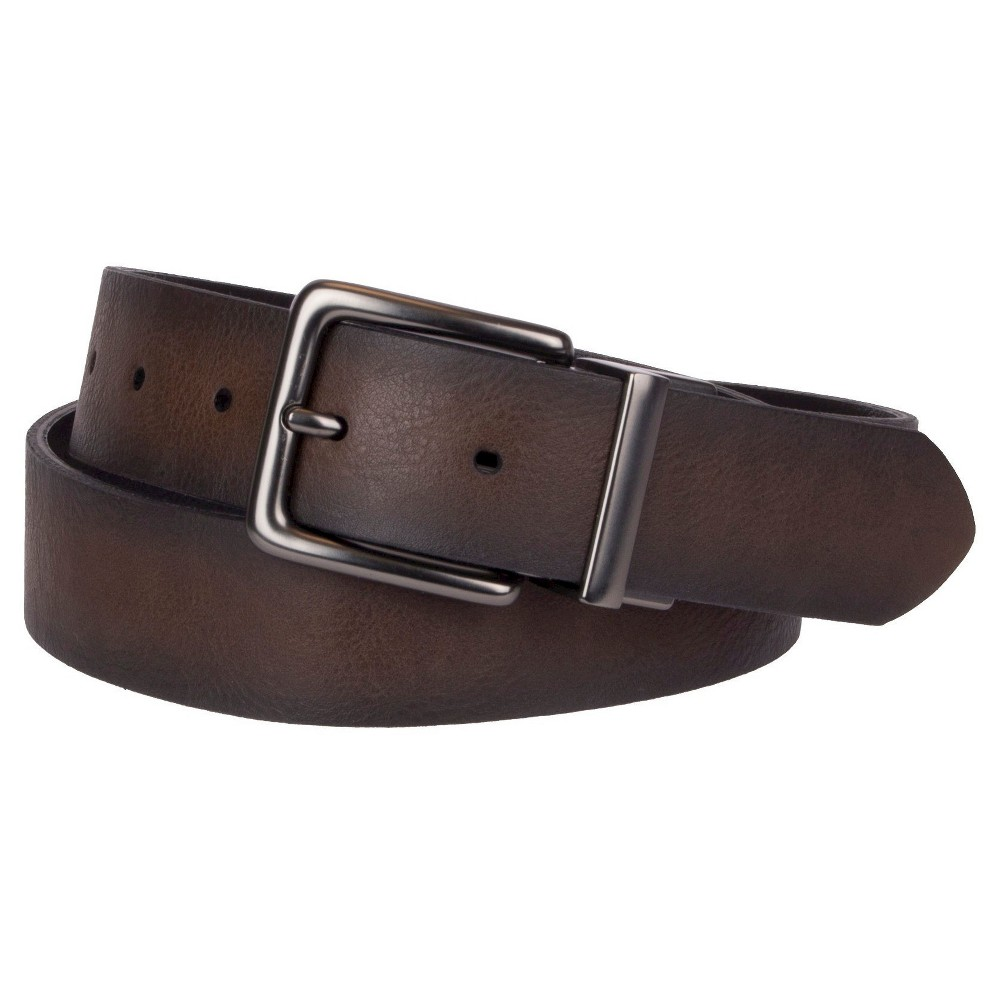 Mens Belt - Goodfellow & Co Black/Brown XL, Size: XL(40-44), Black Multicolored Brown