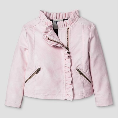 Baby Girls' Outwear Coat And Jacket Genuine Kids from Oshkosh™ Nouveau Pink 12M