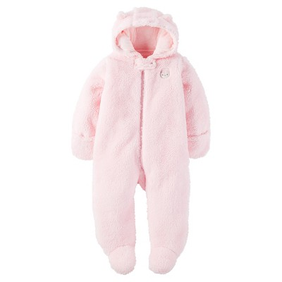 Just One You™ Made by Carter's® Baby Girls' Sherpa Owl - Pram Pink 9M