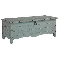 Jesse Storage Trunk - Gray - Progressive Furniture