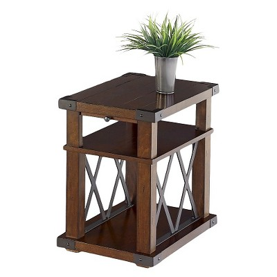 landmark end table chairside vintage ash progressive furniture - Progressive Furniture