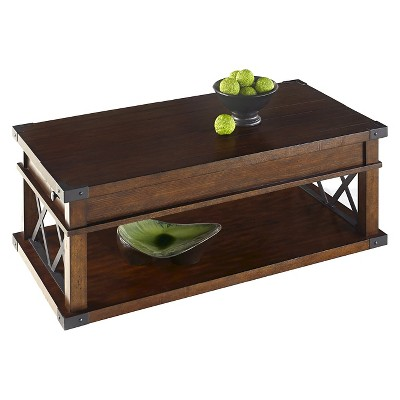 Landmark Coffee Table with Casters - Vintage Ash - Progressive Furniture