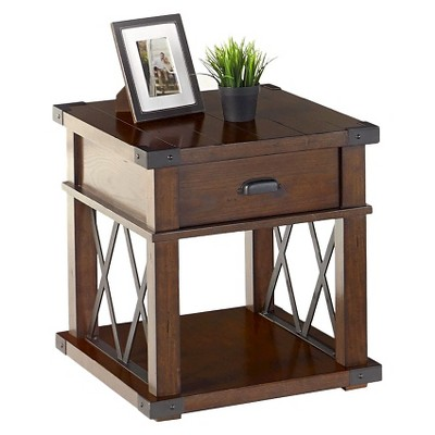Landmark End Table - Vintage Ash - Progressive Furniture