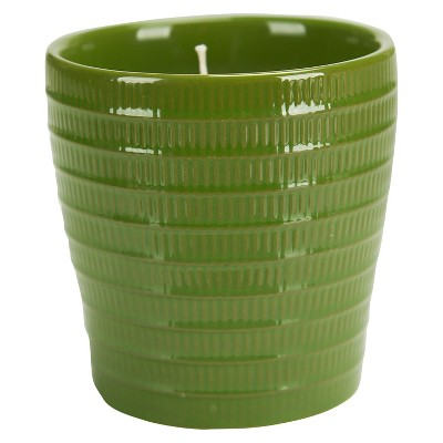 Ceramic Jar Candle Water Lily Green - Pure & Natural by Chesapeake Bay Candle®
