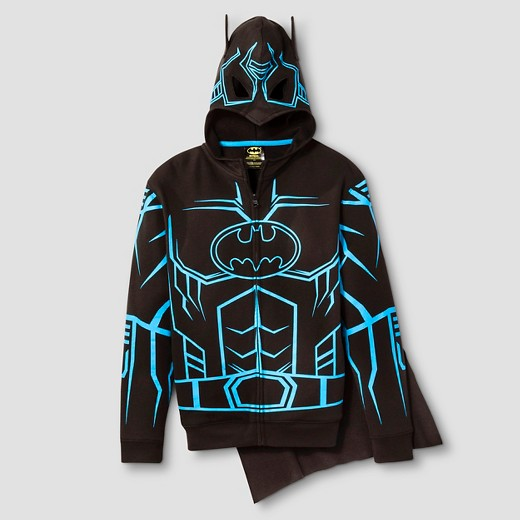 Boys' Batman Hooded Sweatshirt - Black : Target