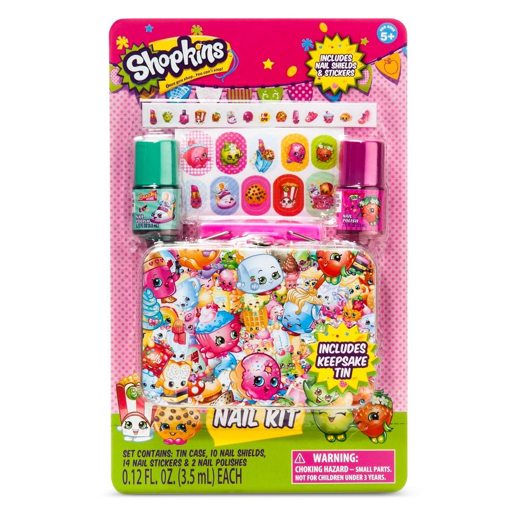 Shopkins Nail Art Kit 5 pcs, Multi-Colored
