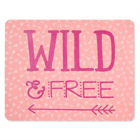 Pink Wild and Free Soft EVA Placemat - Pillowfort™ - image 1 of 1