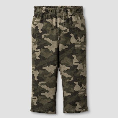 Baby Boys' Sweatpants Baby - Cat & Jack™ - Moss Olive