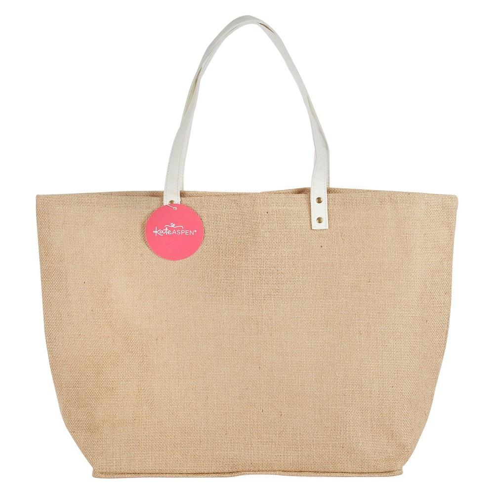 Natural Jute Tote Bag, Gentle Brown