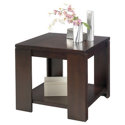 Waverly End Table   Vintage Walnut   Progressive Furniture