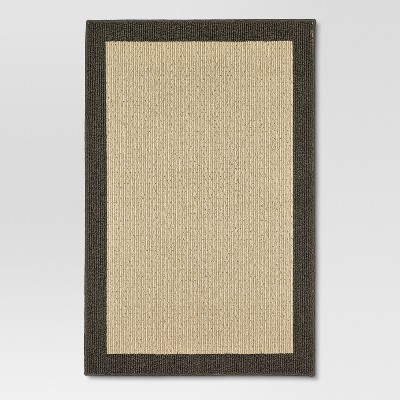 Madison Border Area Rug Gray 48 x66  - Threshold™