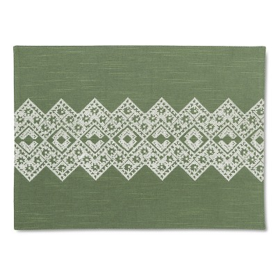 Green Chevron Placemat - Threshold™