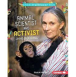 Animal Scientist and Activist Jane Goodall (Library) (Douglas Hustad)