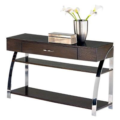Showplace Console Table   Cappuccino Oak   Progressive Furniture