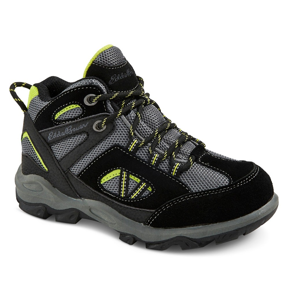Eddie Bauer Boys' Utility Hiking Boots - Black 5