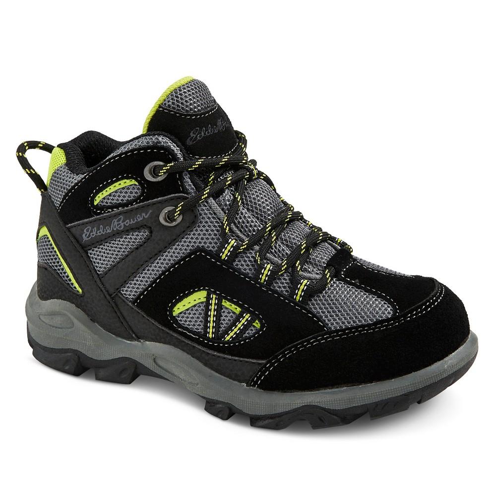 Eddie Bauer Boys Utility Hiking Boots - Black 3