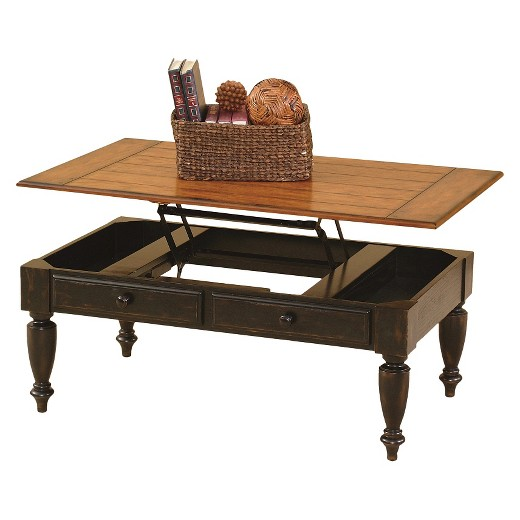 country vista lift-top coffee table/occasional table/end table