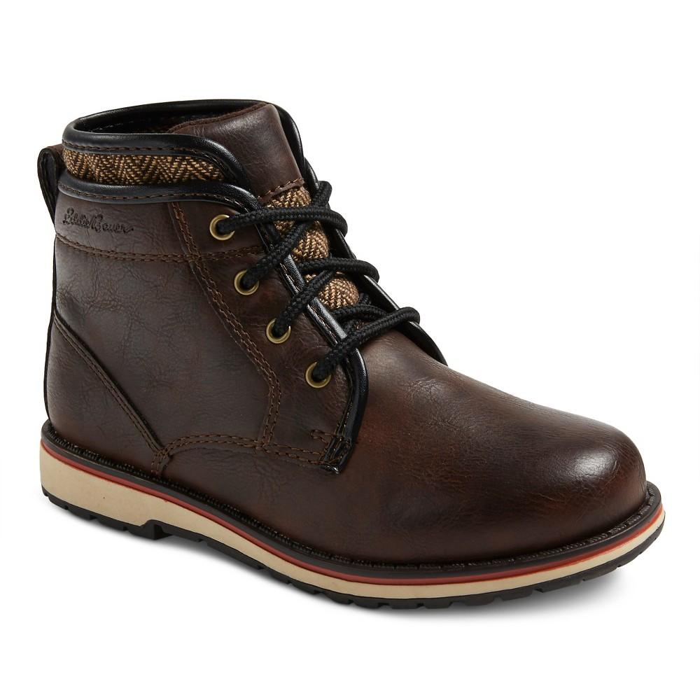 Eddie Bauer Boys Jaccob Chukka Boots - Brown 4