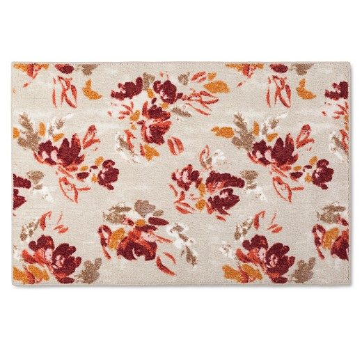 Kitchen rug warm floral threshold target for Warm rugs