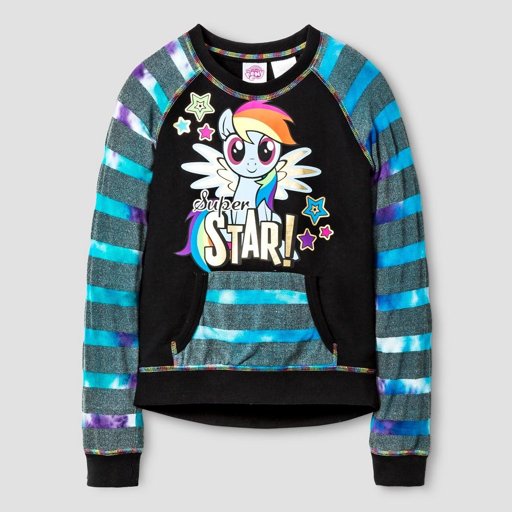 Girls' My Little Pony Pullover - Black 6/6X, Size: S (6-6X)