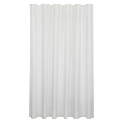 Bubble Texture Natural Shower Curtain White - Fieldcrest™