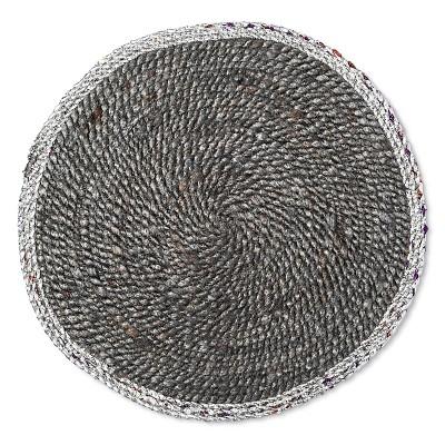 GrayStripe Decorative Charger - Threshold™