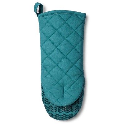 Teal Solid Oven Mitt - Room Essentials™