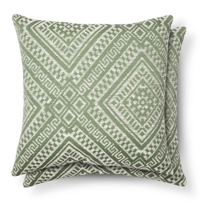 Green Global Throw Pillow - (2 Pack)- Threshold™
