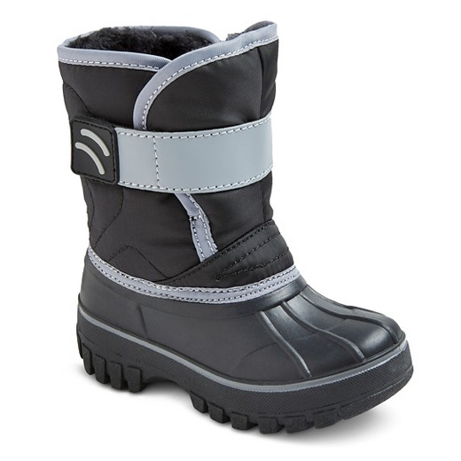 Toddler Boys' Demetrius Velcro Strap Winter Boots Cat & Jack ...