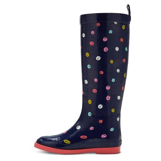 Girls' Lia Tall Rain Boots Cat & Jack™ - Navy : Target