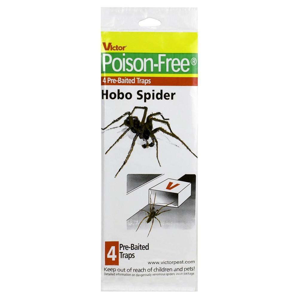 Victor Poison-Free 4-Pack Hobo Spider Trap - Safer Brand